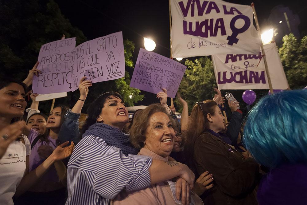 Manifestación del Día Internacional de la Mujer